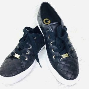 G by Guess Lace-up Quilted Sneakers Sz 10